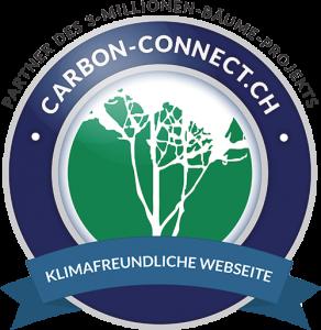 Klimafreundliche Website von carbon-connect.ch