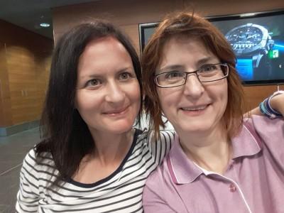 Corinne und ich