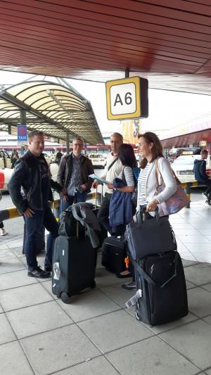 Schweizer XING Ambassadoren am Flughafen Berlin Tegel
