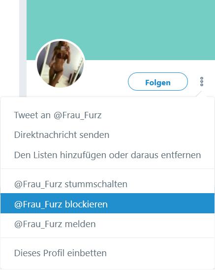 Blockierte Nutzer werden in dieser Liste gespeichert