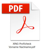 XING-Profilcheck